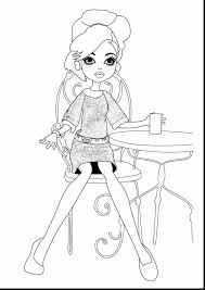 Marvelous Monster High Coloring Pages With Printable And