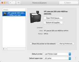 How To Resolve Mac Printing Issues