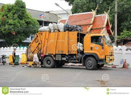 Garbage Truck Editorial Photo. Image Of Sewer, Junk, Rubbish - 57265701