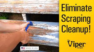 Scrape Popcorn Ceiling With Shop Vac by Viper Scraper Vacuum Paint Scraping Demo 1 Youtube