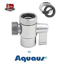 Sink Sprayer Diverter Connection by Aquaus Faucet Diverter Valve With Male Thread Adapter Amazon Com