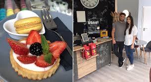 un petit café neue patisserie im wiesbadener westend