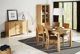 esszimmer set einrichtung eiche teilmassiv tisch 4 stühle schrank sideboard