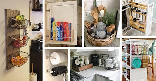 Small Kitchen Organizing Ideas 45 Best Small Kitchen Storage Organization Ideas And