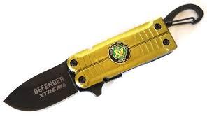 couteau army 13cm de poche ouverture rapide couteau azur