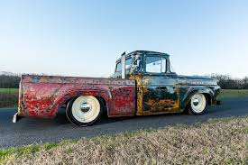 100 Rat Rod Semi Truck FrankenFord 1960 Ford F100 With A Caterpillar Diesel Engine Swap