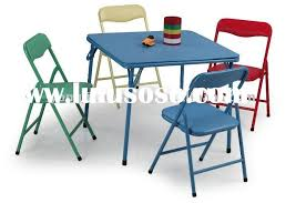 why you must have a folding table and chairs for kids home decor