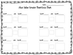 Heres A Set Of Cards And Mats For Comparing Number Values Using Images Base 10