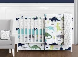 Bacati Crib Bedding by Sweet Jojo Designs Mod Dinosaur 9 Piece Crib Bedding Set U0026 Reviews