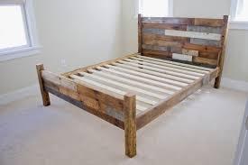 Make Queen Platform Bed Frame by Bed Frames Solid Wood Platform Bed King Solid Surface Platform