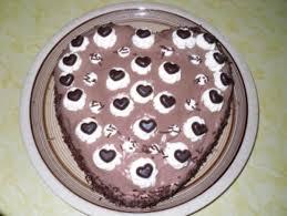 schoko herz torte