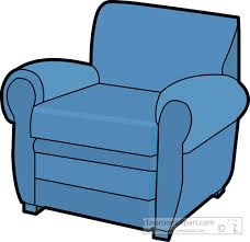 Blue Accent Chair Furniture 02