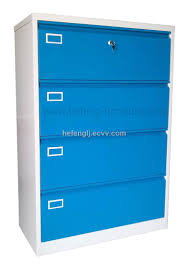 Hon 4 Drawer Lateral File Cabinet furniture white metal hon file cabinets with blue chest and 4