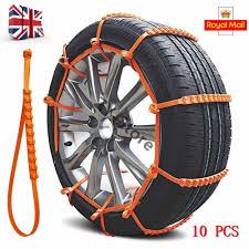 100 Snow Chains For Trucks 10Pcs 90cm Universal Anti Skid Car Truck TPU Tyre Tire