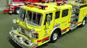 RC MINI SCALE TRUCKS HOMEMADE AMERICAN LA FRANCE FIRE TRUCK - YouTube