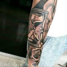 Diego Alejandro Tattoos Uploaded By Diego Alejandro Ovalle Clock