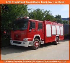 100 Used Rescue Trucks Fire Fighting Truck Equipment 6cbm Water Foam Tanker