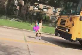 100 Truck Driving School Houston Car Blows Past School Bus Stop Sign Nearly Hitting Child