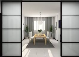 94 Dining Room Doors Sliding Door Inside Modern