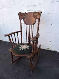 Early 1900 ' S Victorian Carved Oak Needlepoint Rocking ... Details About Copper Grove Taber Oak Carved Rocker Chair 25 X 3350 4 Danish Carved Oak Armchair Dated 1808 Bargain Johns Antiques Victorian Antique Rocking Vintage Childs Rocking Chair Ssr Childs Hand Elephant In So22 Sold Era With Leather 1890s Ornate Lift Glastonbury Armchair 639070 Larkin Soap Company Ribbon Back Wainscot Second Half 17th Century Isolated