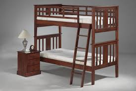 bedroom types of beds wood bunk bed with wood end table also grey