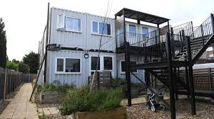 100 Converted Containers Children In Britain Are Living In Shipping Containers And