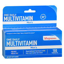 Walgreens One Daily Multivitamin Mens Tablets