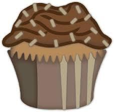 Muffin clipart chocolate cupcake 5