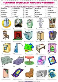 Puzzle Bathroom Furniture And Spanish French Words Vocabulary Crossword Selamat Ambrose