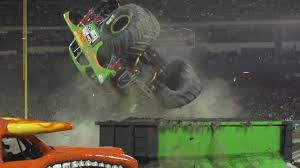100 Monster Truck Backflip Jam Avenger Driver Jim Koehlers In Anaheim