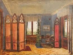 russische wohnzimmer gemälde bild gründerzeit biedermeier