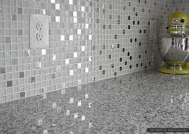 white glass metal backsplash tile pearl backsplash