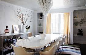 Modern Dining Table New York With A Sophisticated City Apartment Home Tour Lonny
