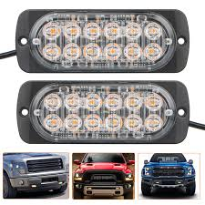 NEW 12 LED AMBER FLASHING STROBE 12V LIGHT 12VSTR - Uncle Wiener's ... 95 Inch Led White Amber Bar Truck Strobe Flash Light Warn Buyers Products Hidden 2pc Set 47 Best Led Lights Kits Emergency New 6 4 Amber Strobe Emergency Truck Light Amb6 As Hqrp 32 Traffic Advisor 44 High Intensity Law Enforcement Hazard Warning Ford Resource Malaysia Peterson Launches New Strobe Lights News 4x Car Beacon 63 Amberwhite Grille Vehicle 3