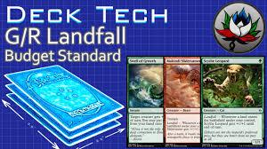 Mtg Werewolf Deck Ideas by G R Landfall U201cbudget U201d Aggro Standard Deck Tech U2013 Battle For