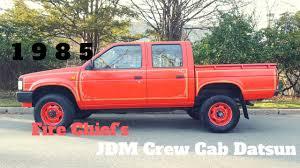1985 Nissan Datsun Pickup Crew Cab 4x4 5 Speed JDM Import - YouTube