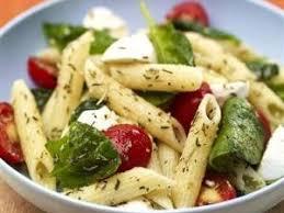 recette de la salade de pâtes froide végétarienne par lezed
