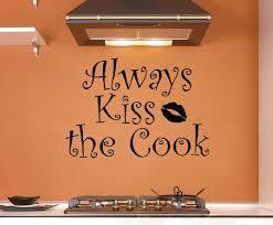 baise cuisine mignon cuisine stickers muraux baiser cuire stickers muraux