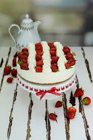 erdbeer käse sahne torte no bake marion s kaffeeklatsch