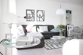 wohnzimmer skandistyle deko schwarzweiß bauhaus früh