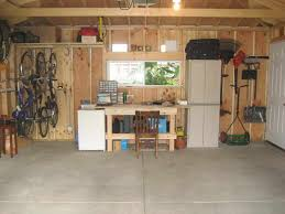 wondrous garage workbench plans with hard maple wooden wall
