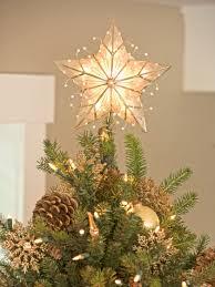 Capiz Star Christmas Tree Topper