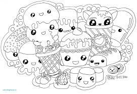 Kawaii Food Coloring Pages