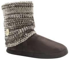 muk luks knit leg warmer women u0027s slippers sweater booties boots ebay