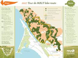 Nicasio Pumpkin Patch by Tour De Malt Combined Route Map Marin Agricultural Land Trust