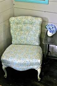Burke Slipper Chair With Buttons by Diy Slipper Chair Reupholstery Chair Reupholstery Slipper