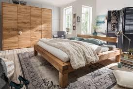 schlafzimmer massivholz tpt balkenbett wildeiche geölt s01