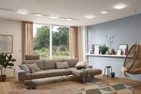 beleuchtung im wohnzimmer ideen tipps paulmann licht