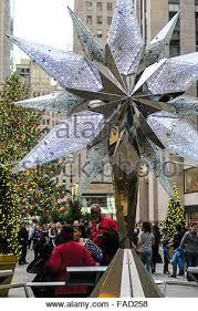 Swarovski Crystal Christmas Tree Star Replica Rockefeller Center NYC USA