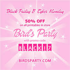 50 Off On Black Friday by Black Friday U0026 Cyber Monday 50 Off All Printables In Store